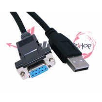 Cabo Conversor Serial Rs232 Db9 Fêmea P/ Usb Null Recovery