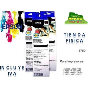 Cinta Epson 8750 Para Impresora Lx300 Lx-810 Lx-300 Tepuy