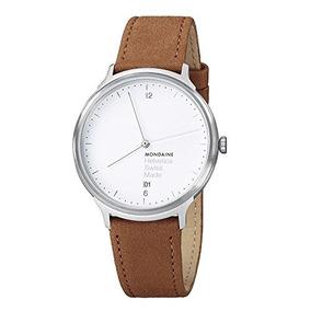 Mondaine Unisex Mh1.l2210.lg Helvetica Reloj Analógico De