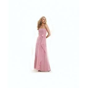 Lilasori Vestido De Fiesta Importado Color Rosa Talla 9/11