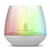 Vela Led Rgb Playbulb Candle - Bluetooth X Celular - Premium