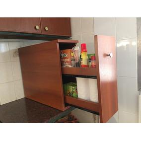 Mueble Alacena Especiero Cajonera Mesada Organizador Cocina