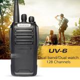 Radio Dual Band(uhf+vhf) Baofeng Uv-6 Talkabout 8 Watts