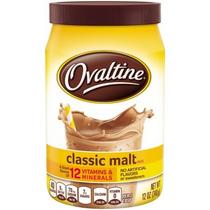 Ovaltine Clásico De Malta Con Sabor Leche Mix 12 Oz Frasco