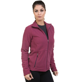 Casaco Fleece Feminino Thermo Soft Proteção Solar Extreme Uv