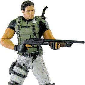 Resident Evil 5 Chris Redfield Pvc Action Figure