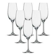 Jogo 6 Tacas Champagne Cristal Ivento 228ml Schott Zwiesel