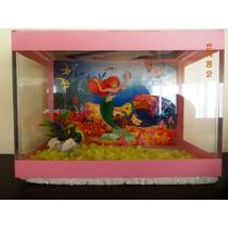 Beteira Pequenas Sereias Rosa 20x10x15 -ctf Ibama 5935598