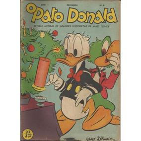 O Pato Donald Nº 6 - 1950 - Original