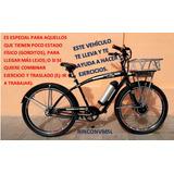 Bicicleta Electrica Pas Pedaleo Asistido Cruiser Cargo