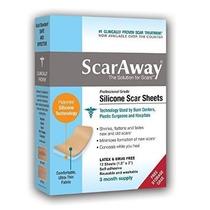 Scaraway® 8 Fitas De Silicone Silimed Medgel Para Cicatriz!