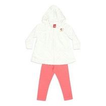 Conjunto Infantil Menina Blusa Plush E Calça Reta