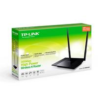 Router Tp-link Alta Potencia Tl-wr841hp + Antenas De 9dbi
