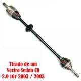 Semieixo Junta Homocinética Vectra Cd 2.0 16 V Direito 2003