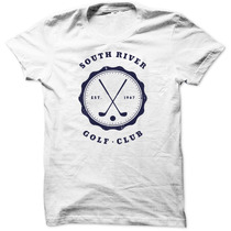 Camiseta South River Golf Club Moda Luxo Camisa Masculina