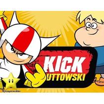 Kit Imprimible Doble De Riesgo Kick Buttowski Invitaciones