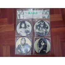 Kiss Interview 4 Picture Disc 7 Pulgadas Baktabak Lp Vinilo