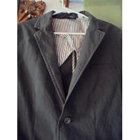 Saco Suit Gray Gris Casual Sport Fashion Moda Hombre