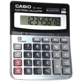 Calculadora Casio Ds-800a Bodeguera 8digitos Mayor Y Detal