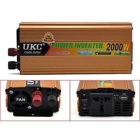 Promo - Inversor U K C 2000 Watts12v 220v Pico