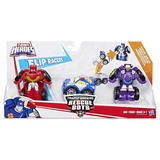 Playskool Heroes Transformers Rescue Bots Flip Races Multi-p