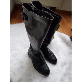Botas Montar Mujer Caña Alta Cuero Larga Calzado Bucanera