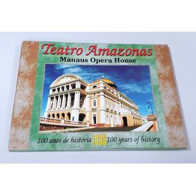 Kit De Cartões Postais Do Teatro Amazonas - Manaus