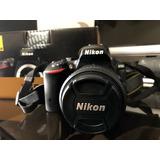 Camara Nikon D5500 18 - 55mm F/3 5 -5.6 G Vr Ii Dslr