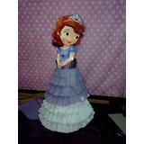 Piñata De Princesita Sofia, Blancanieves, La Sirenita, Bella
