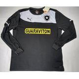 Camisa Botafogo Oficial Puma Goleiro 2014 Manga Longa Nova