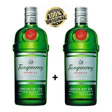 Kit 2 Gin Importado London Dry Tanqueray Garrafa 750ml
