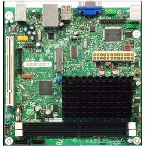 Placa Mãe Intel D510mo Atom D510 1,66ghz + 2gb Ddr2 Ram