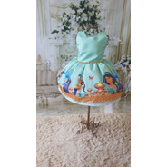 Vestido Princesa Jasmine Luxo Temático