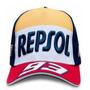 Boné Repsol Moto Gp Honda Corrida Marques 93 Top