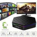 Smart Tv Box T95z Plus 4k Android Octacore 32gb 3gb Ram