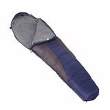Saco De Dormir Sleeping Bag Concha 3 Direito + Isolante Térm