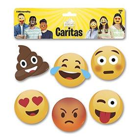 Euro Novelty Juguete 6 Máscaras Caritas - Nuevo