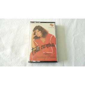 Guadalupe Pineda Todo Cambia Cassette 1986 Melody