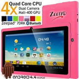 Tablet Zeepad 7drk-q Android 4.4 Kitkat Quad Core Capacit