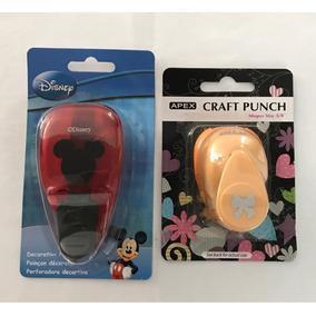 Kit Furador Cabeça Mickey + Laço ( Novo Na Embalagem Origin