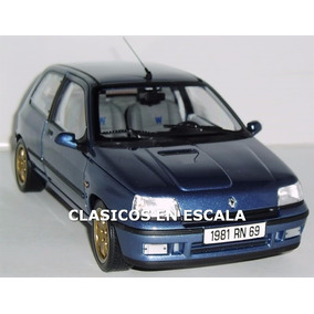 Renault Clio Williams - Icono Clasico Frances - A Norev 1/18