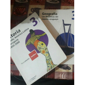 Libros De Tercero Santillana, Geografia Y Biologia