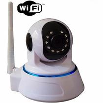Câmera Sem Fio Ip Wireless Com Acesso Via Internet- Noturna
