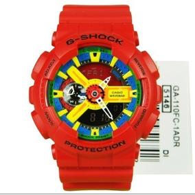2ca59bbd7e1 Relógio Casio G Shock Ga 110fc 1ad Crazy Colors Unissex - Relógios ...