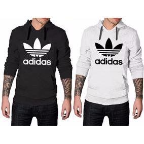Masculino Adidas Hellbender - Moletom Femininas Branco no Mercado ... 570b548d980