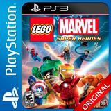 Lego Marvel Super Heroes Ps3 Digital Nº1 En Ventas De Arg.