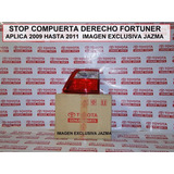 Stop Compuerta Derecho Fortuner 2009 2011 Original Toyota