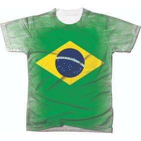 Camiseta Camisa Manga Curta Copa Do Mundo Seleção Futebol 07
