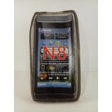 Capa Case Gel Tpu Preto Nokia N8 N 8