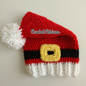 Gorro Navideño Niños Y Adultos Crochet